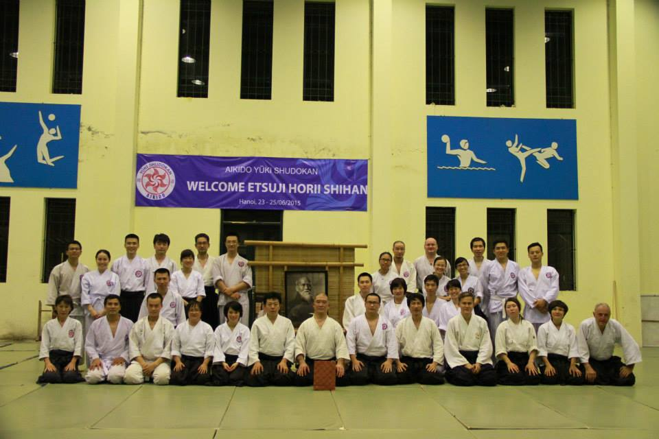 Seminar with Shihan Horii Etsuji: Acknowledgement from AYS club chairman