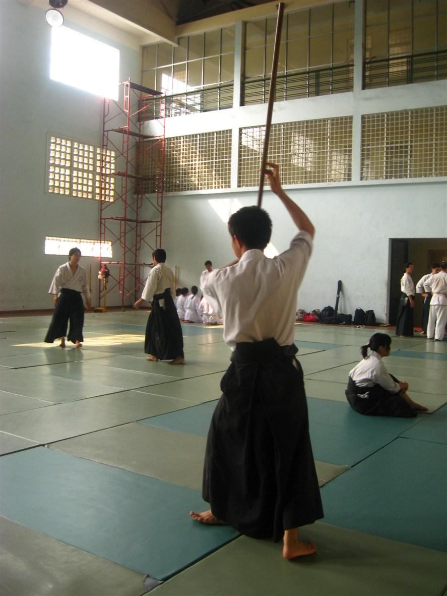 [Album] 2010.11.28 Tập luyện kiếm gậy ở Dojo