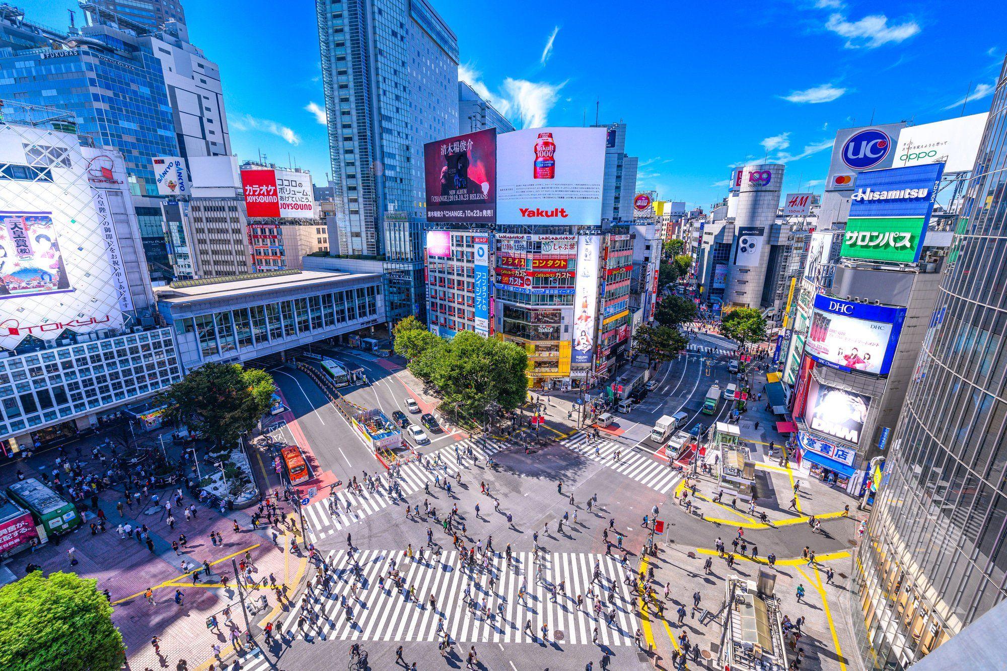 [vi] Culture conner Shibuya street